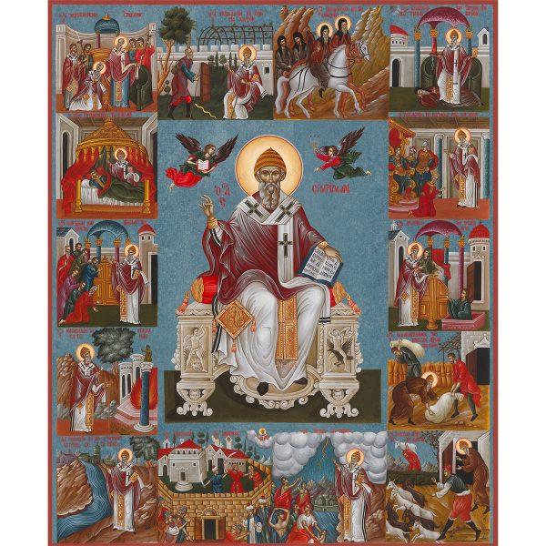 Θαύματα αγίου Σπυρίδωνα (ΜΠΛΕ ΦΟΝΤΟ)