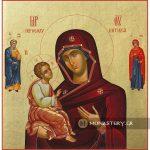 εικονα παναγια ιεροσολυμητισσα