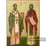 εικονα αγιοι κυριλλος και μεθοδιος