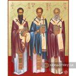 εικονα τρεις ιεραρχες